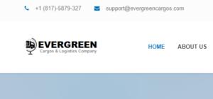 Logo der Fake-Firma EvergreenCargos zur Vorbereitung des Instagram Betruges.