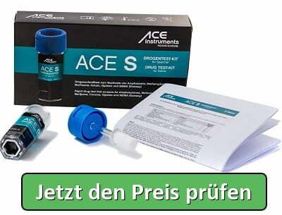 ACE S Multi Drogentest Speichel   6 versch. Drogenarten - Jetzt den Preis prüfen