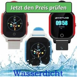 """GPS Kinder Tracker Uhr – """"Kleiner Panther"""" – (wasserdicht) - Jetzt den Preis prüfen"""