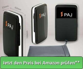 PAJ GPS Allround Finder Version 2020 GPS Tracker etwa 20 Tage Akkulaufzeit (bis zu 60 Tage im Standby Modus) Live-Ortung Peilsender für Auto, Personen - Jetzt den Preis prüfen **