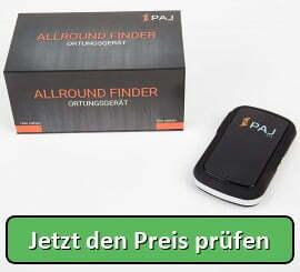 PAJ GPS Allround Finder GPS Tracker 20 Tage Akku Finder Live-Ortung Peilsender für Objekte, KFZ, Personen, Tiere mit App - Jetzt den Preis prüfen