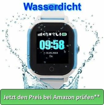 """GPS Kinder Tracker Uhr – """"Kleiner Panther"""" – (wasserdicht) - Jetzt den Preis bei Amazon prüfen**"""